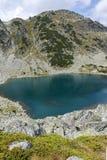 Καταπληκτικό τοπίο των λιμνών Musalenski, βουνό Rila Στοκ Φωτογραφία