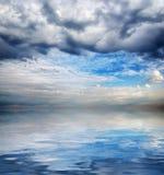 Καταπληκτικό seascape υπόβαθρο Στοκ φωτογραφία με δικαίωμα ελεύθερης χρήσης