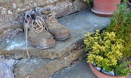 Καταπονημένα παπούτσια Στοκ φωτογραφίες με δικαίωμα ελεύθερης χρήσης