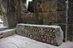 Καταπληκτικές καταστροφές του ναού Preah Khan (12ος αιώνας) στην Καμπότζη). Στοκ Εικόνες