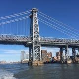 Καταπληκτική άποψη πόλεων της Νέας Υόρκης Στοκ εικόνα με δικαίωμα ελεύθερης χρήσης
