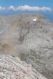 Καταπληκτική άποψη στην αιχμή Kutelo, βουνό Pirin Στοκ εικόνες με δικαίωμα ελεύθερης χρήσης