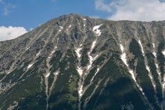 Καταπληκτική άποψη στην αιχμή Todorka, βουνό Pirin Στοκ εικόνες με δικαίωμα ελεύθερης χρήσης