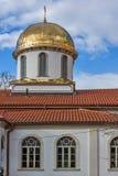 Καταπληκτική άποψη του χρυσού θόλου της εκκλησίας ψαριών, ST Mary Annunciation, Αζένοβγκραντ, Βουλγαρία Στοκ φωτογραφίες με δικαίωμα ελεύθερης χρήσης