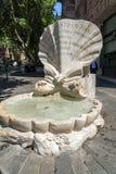 Καταπληκτική άποψη Fontana delle API στην πλατεία Barberini στη Ρώμη, Ιταλία Στοκ φωτογραφία με δικαίωμα ελεύθερης χρήσης