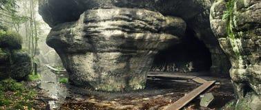 Καταπληκτική μορφή βράχου στοκ φωτογραφίες με δικαίωμα ελεύθερης χρήσης