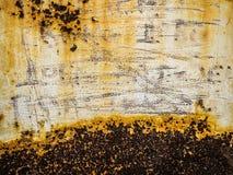 Καταπληκτική σκουριασμένη σύσταση Στοκ Εικόνες