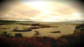 Καταπληκτική υγιής άποψη Puget Στοκ φωτογραφίες με δικαίωμα ελεύθερης χρήσης