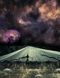 Καταπληκτική φαντασία planetscape Στοκ Εικόνα