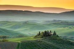 Καταπληκτική tuscan χώρα Στοκ Φωτογραφίες