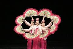 Καταπληκτικός κορεατικός χορός Στοκ φωτογραφία με δικαίωμα ελεύθερης χρήσης