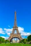 Καταπληκτικός όμορφος πύργος του Άιφελ στο Παρίσι Στοκ εικόνα με δικαίωμα ελεύθερης χρήσης