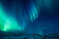 Καταπληκτικό βόρειο φως Στοκ εικόνα με δικαίωμα ελεύθερης χρήσης
