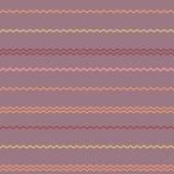 Καταπληκτικό ζωηρόχρωμο ιώδες εκλεκτής ποιότητας γεωμετρικό σχέδιο λωρίδων Στοκ φωτογραφία με δικαίωμα ελεύθερης χρήσης