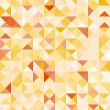 Καταπληκτικό ζωηρόχρωμο κίτρινο εκλεκτής ποιότητας γεωμετρικό σχέδιο Στοκ φωτογραφίες με δικαίωμα ελεύθερης χρήσης