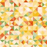 Καταπληκτικό ζωηρόχρωμο κιτρινοπράσινο εκλεκτής ποιότητας γεωμετρικό σχέδιο Στοκ Φωτογραφία