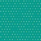 Καταπληκτικό ζωηρόχρωμο πράσινο εκλεκτής ποιότητας γεωμετρικό σχέδιο σημείων Στοκ Εικόνες
