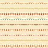 Καταπληκτικό ζωηρόχρωμο σχέδιο λωρίδων ουράνιων τόξων μπεζ εκλεκτής ποιότητας γεωμετρικό διανυσματική απεικόνιση