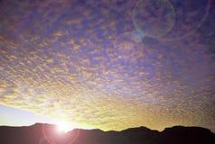 καταπληκτικό ηλιοβασίλ&ep Στοκ φωτογραφίες με δικαίωμα ελεύθερης χρήσης
