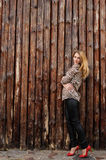 Καταπληκτικό κορίτσι με τις φακίδες Στοκ Φωτογραφία