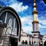 Καταπληκτικό μουσουλμανικό τέμενος Στοκ φωτογραφία με δικαίωμα ελεύθερης χρήσης