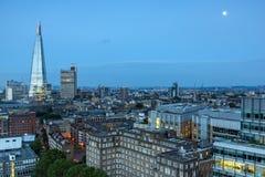Καταπληκτικό πανόραμα ηλιοβασιλέματος από τη σύγχρονη στοά του Tate στην πόλη του Λονδίνου, Αγγλία, Μεγάλη Βρετανία Στοκ φωτογραφία με δικαίωμα ελεύθερης χρήσης