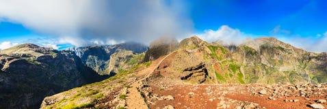 Καταπληκτικό πανόραμα Pico do Arieiro Στοκ εικόνα με δικαίωμα ελεύθερης χρήσης