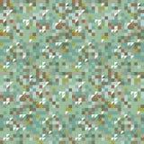 Καταπληκτικό πράσινο ζωηρόχρωμο εκλεκτής ποιότητας γεωμετρικό σχέδιο απεικόνιση αποθεμάτων