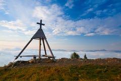 Καταπληκτικό πρωί σε Gerlitzen Apls στην Αυστρία Στοκ φωτογραφία με δικαίωμα ελεύθερης χρήσης
