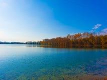 Καταπληκτικό τοπίο λιμνών Στοκ εικόνα με δικαίωμα ελεύθερης χρήσης