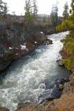 καταρράκτες ορμητικά σημείων ποταμού whitewater Στοκ φωτογραφία με δικαίωμα ελεύθερης χρήσης