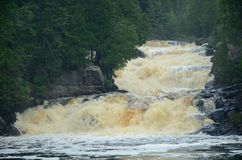 Καταρράκτες ποταμών Στοκ Φωτογραφίες