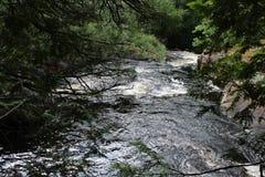 Καταρράκτες ποταμών Doncaster Στοκ εικόνες με δικαίωμα ελεύθερης χρήσης
