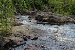 Καταρράκτες ποταμών Doncaster Στοκ Εικόνες
