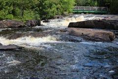 Καταρράκτες ποταμών Doncaster Στοκ Εικόνα