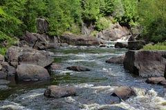 Καταρράκτες ποταμών Doncaster Στοκ φωτογραφία με δικαίωμα ελεύθερης χρήσης