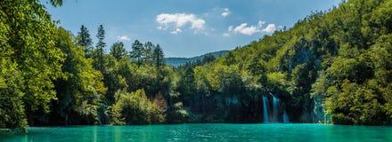 Καταρράκτες στις εθνικές λίμνες Plitvice πάρκων Στοκ φωτογραφία με δικαίωμα ελεύθερης χρήσης