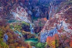 Καταρράκτες στις λίμνες Plitvice στοκ εικόνες με δικαίωμα ελεύθερης χρήσης