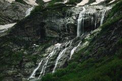 Καταρράκτες της Sofia Sophia, βουνά Καύκασου Arkhyz Στοκ εικόνα με δικαίωμα ελεύθερης χρήσης