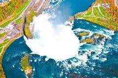 Καταρράκτες του Νιαγάρα, Καναδάς Στοκ εικόνα με δικαίωμα ελεύθερης χρήσης