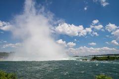 Καταρράκτες του Νιαγάρα στον Καναδά Στοκ φωτογραφία με δικαίωμα ελεύθερης χρήσης