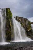 Καταρράκτες Kirkjufell, Ισλανδία Στοκ φωτογραφίες με δικαίωμα ελεύθερης χρήσης