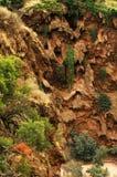 Καταρράκτες Ouzoud κοντά στο χωριό Tanaghmeilt, μεγάλος άτλαντας, Μαρόκο Στοκ εικόνες με δικαίωμα ελεύθερης χρήσης