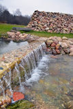 Καταρράκτης άνοιξη νερού Στοκ Φωτογραφία