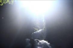 Καταρράκτης από τον ήλιο Στοκ Εικόνες