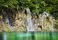 Καταρράκτης λιμνών Plitvice, Κροατία Στοκ φωτογραφία με δικαίωμα ελεύθερης χρήσης
