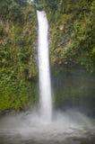 Καταρράκτης Λα Fortuna Arenal στο εθνικό πάρκο, Κόστα Ρίκα Στοκ Εικόνες