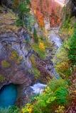 Καταρράκτης ποταμών Arazas στην κοιλάδα Πυρηναία Huesca Ισπανία Ordesa Στοκ φωτογραφία με δικαίωμα ελεύθερης χρήσης
