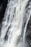 Καταρράκτης πτώσεων του Montmorency Στοκ Εικόνα
