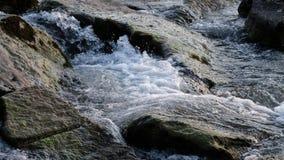 Καταρράκτης σε έναν αλπικό ποταμό στην Αυστρία απόθεμα βίντεο